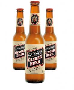 Hartridges ginger beer 3 bottles pyramid ind