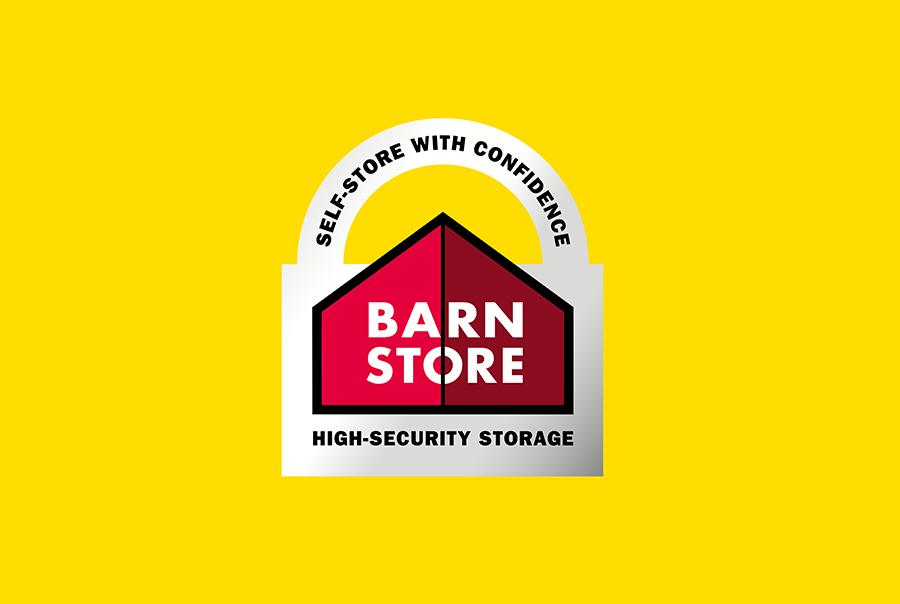 Logo design for self-storage, Barn Store, Hampshire, Dorset and Sussex