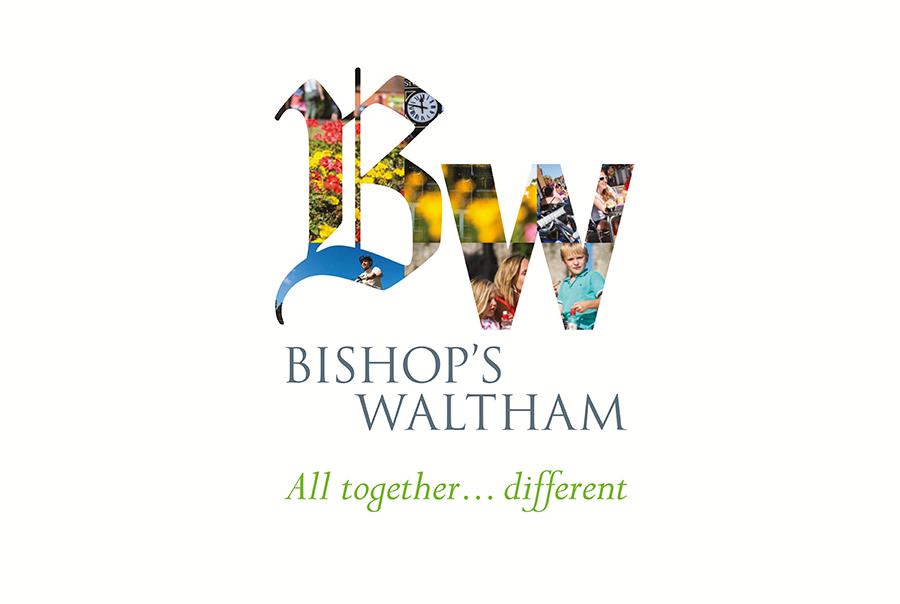 Logo design for town, Bishops Waltham, Hampshire