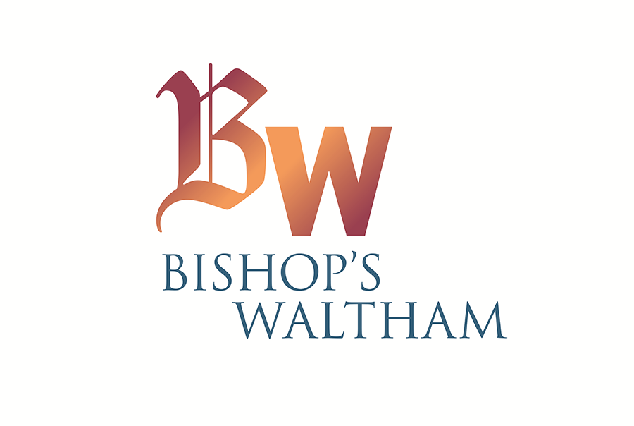 Brand identity design for town, Bishops Waltham, Hampshire