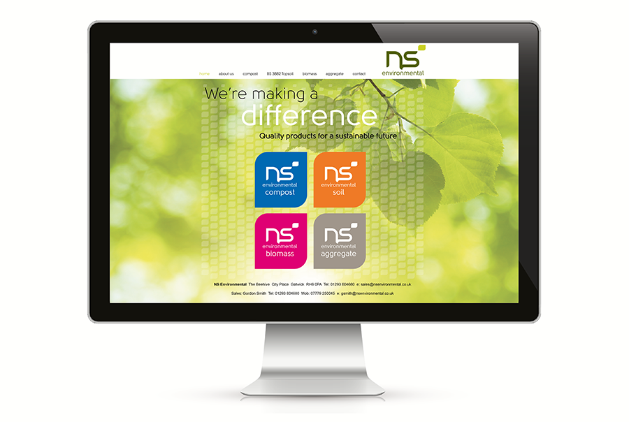 NS Environmental web home page ind