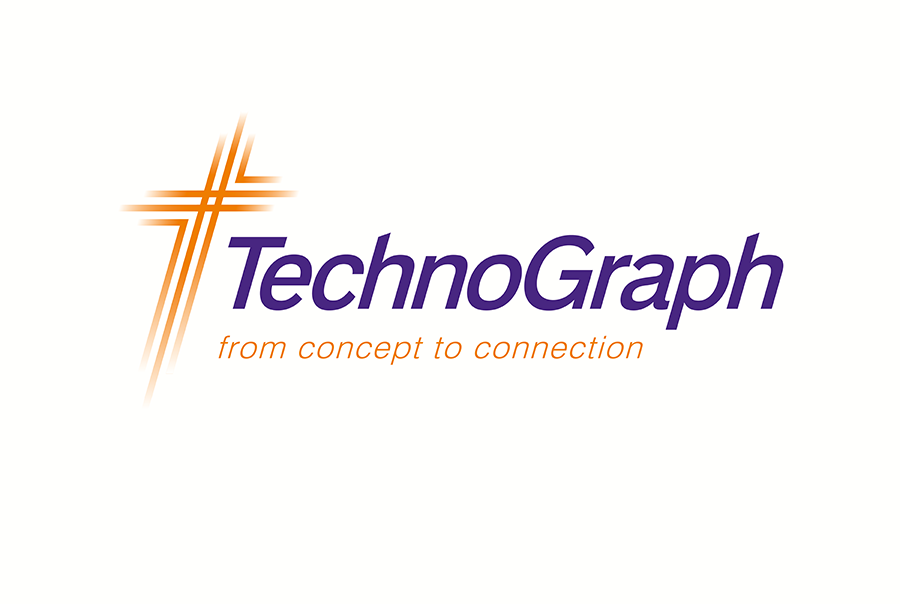 Brand identity design for Technograph Microcircuits, circuit board designer and manufacturer, Portsmouth, Hampshire