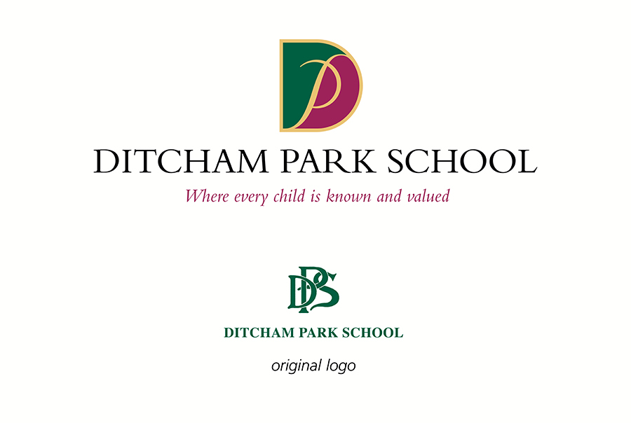 Brand identity and brochure design for Ditcham Park School, near Portsmouth, Hampshire