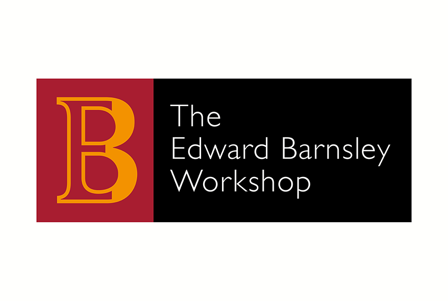 Logo design for furniture maker, Edward Barnsley, bespoke pieces of hand-made furniture, near Portsmouth, Hampshire