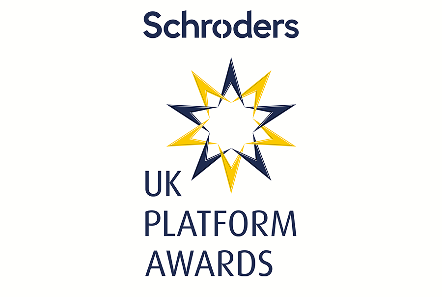 Schroders UK Platform Awards identity